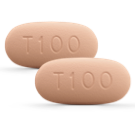 Two 100mg tablets